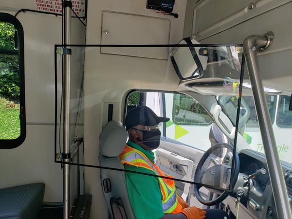 shield on van