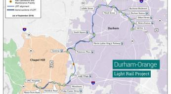 light rail map