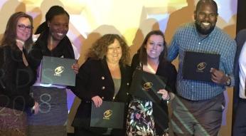 GoTriangle communications team at APTA AdWheel Awards