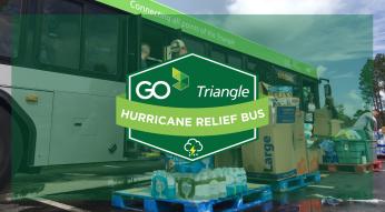 hurricane relief bus
