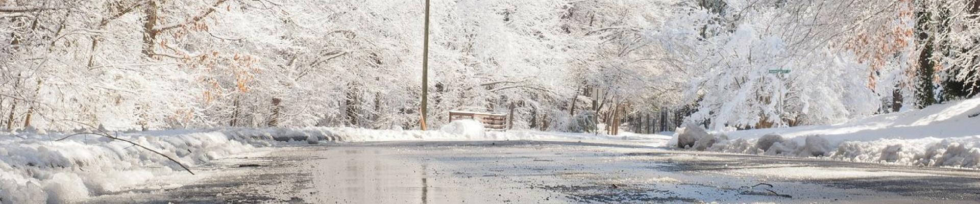 winter weather road
